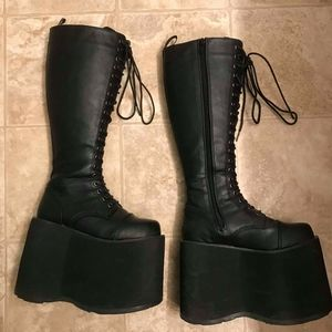 Demonia Stacked Platform Boots